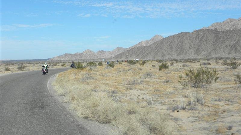 Desert Ride to Visitors Center-Pinacate