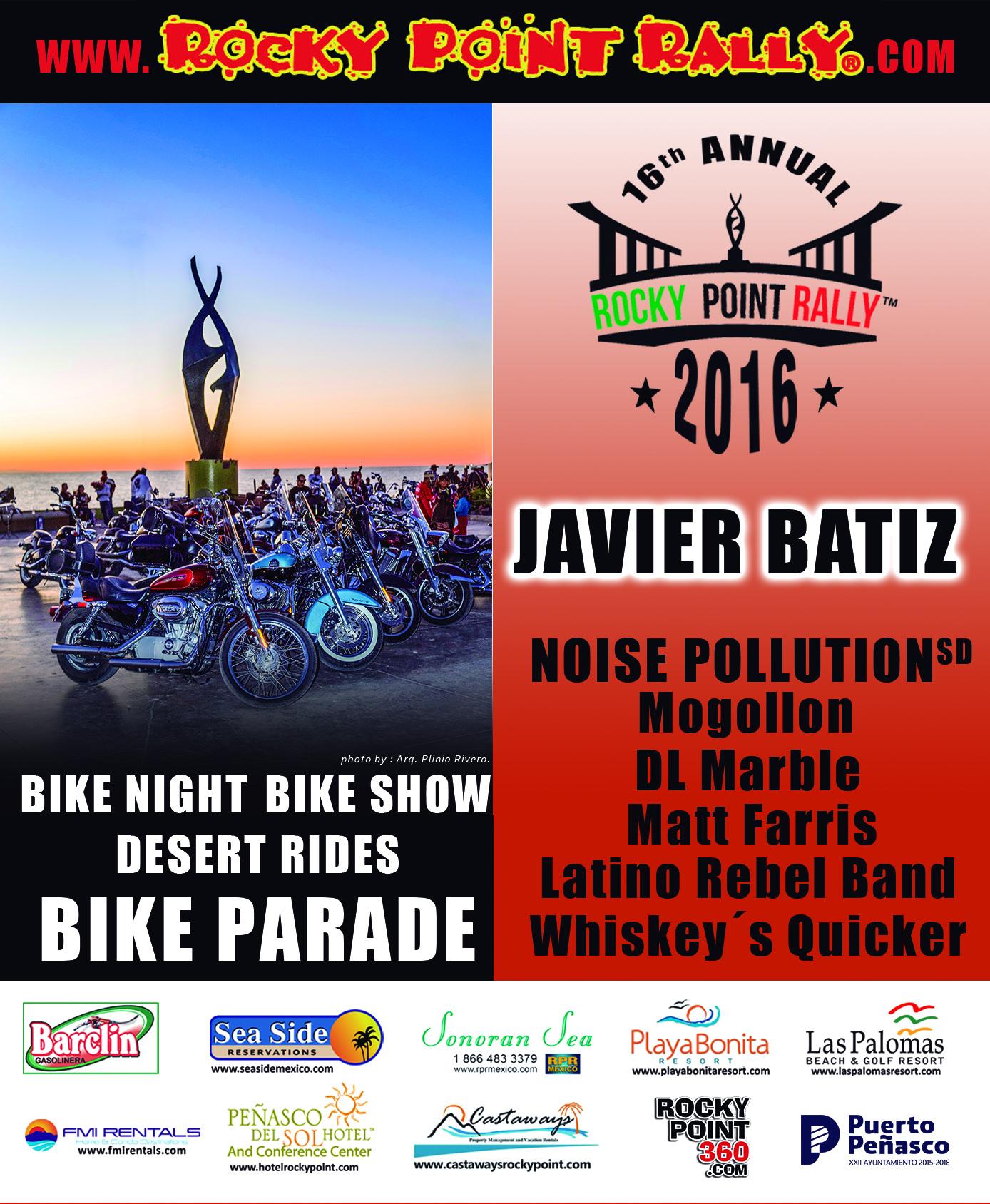 National black bikers roundup 2016 - Postcard Rrp Back 01