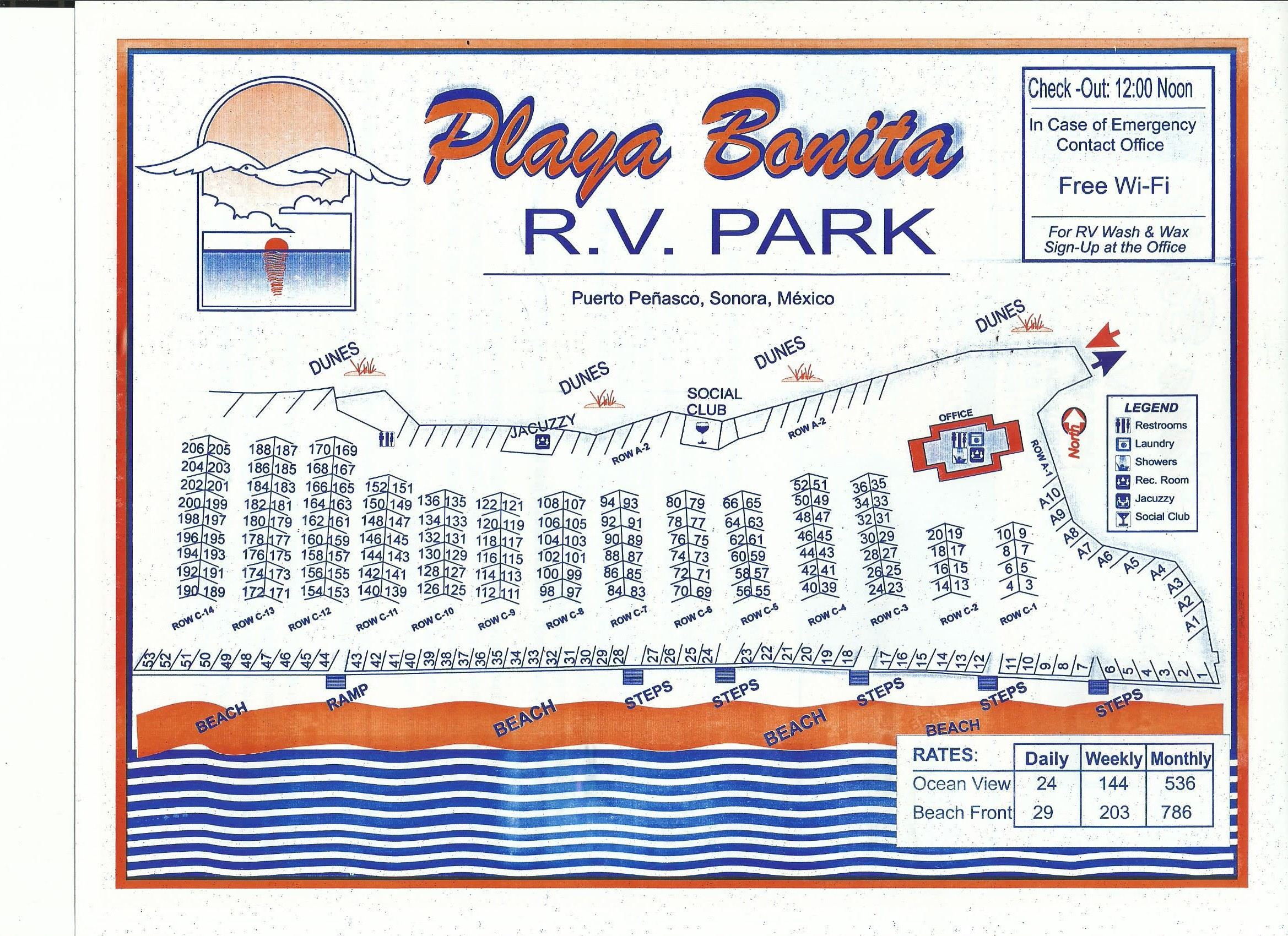 Rv Campsite Rocky Point Rally Rocky Point Rally