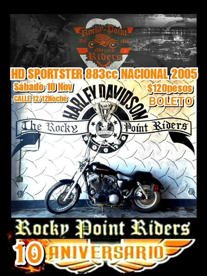 rocky point riders-bike raffle